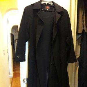 Gallery Full Length Trench Coat Sz 8